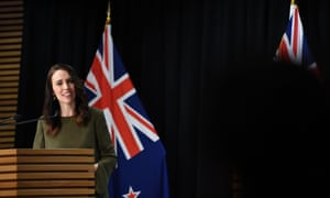 Jacinda Ardern told Donald Trump he's 'patently wrong' saying NZ has a 'big surge' of Covid cases.