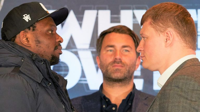 Alexander Povetkin stands in the way of Whyte's world title plans