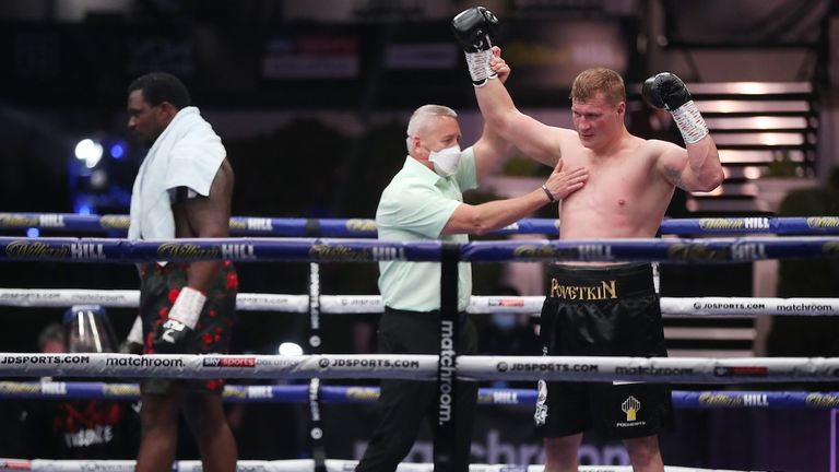 Whyte will aim to rematch Povetkin