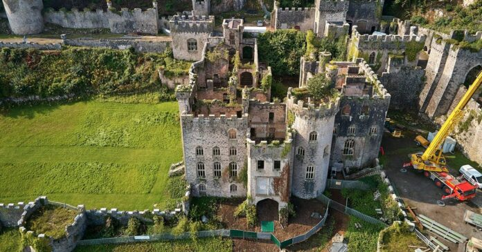 I'm A Celebrity's UK location confirmed as Gwrych Castle - first snaps inside set