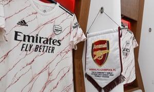 Arsenal's new away kit.