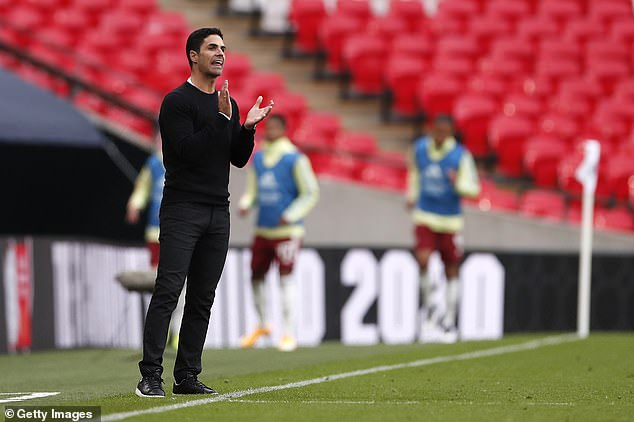 Arsenal fans have joked that Arteta should become player-manager after his impressive skill
