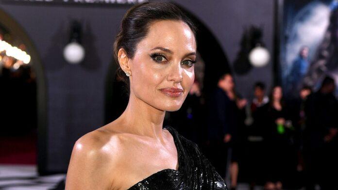 Angelina Jolie says she's enjoying the 'chaos' of a full house during the coronavirus quarantine