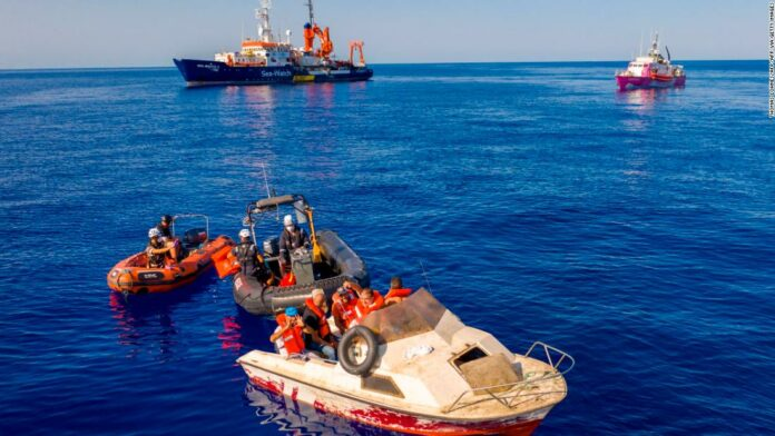 Banksy-funded rescue boat requires 'immediate assistance'