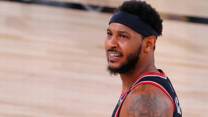 Carmelo Anthony expects to be 'back in the fray of things' next season, hopefully with Trail Blazers