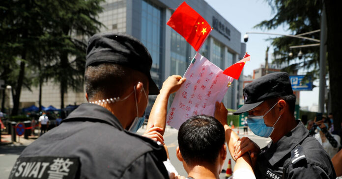 China Tones Down 'Hotheaded' Nationalism as Relations With U.S. Sink