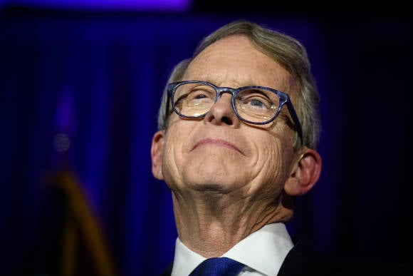 DeWine tests negative for coronavirus a second time