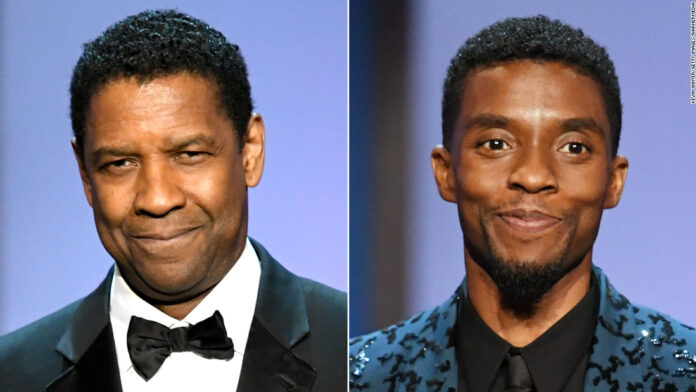 Denzel Washington, who once paid Chadwick Boseman's tuition, pays tribute