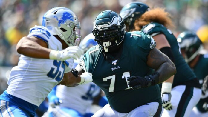 Eagles OL Jason Peters wants raise to move back to left tackle