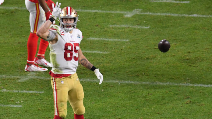 George Kittle channels Ric Flair to celebrate 49ers contract extension