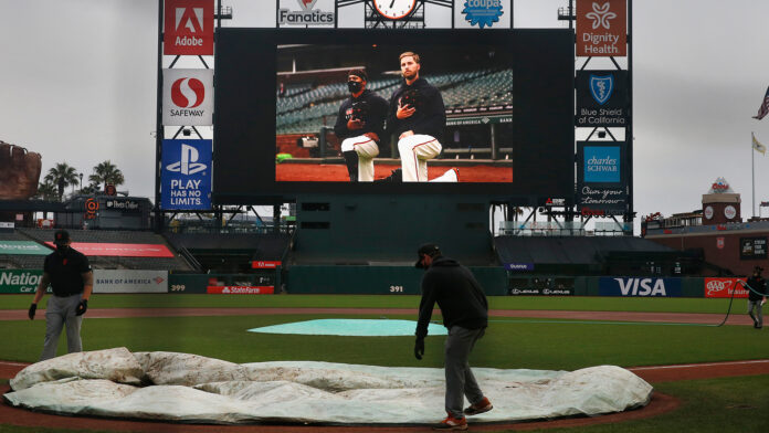 Giants weren't necessarily united in decision to postpone Dodgers game