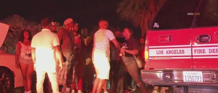 Woman Killed, 2 Wounded After Gunfire Erupts At Beverly Crest Mansion Party – CBS Los Angeles