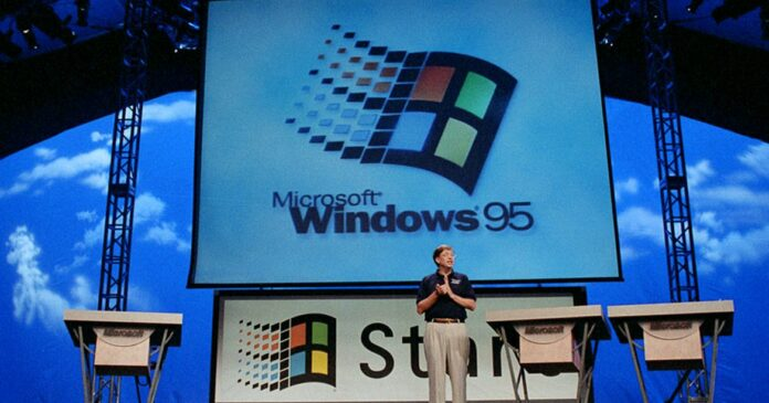 Windows 95 is 25 years old today
