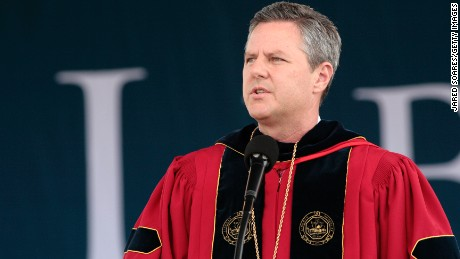 Liberty University president urges students to be armed