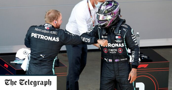 Lewis Hamilton secures Spanish Grand Prix 2020 pole and the 150th front-row start of his F1 career