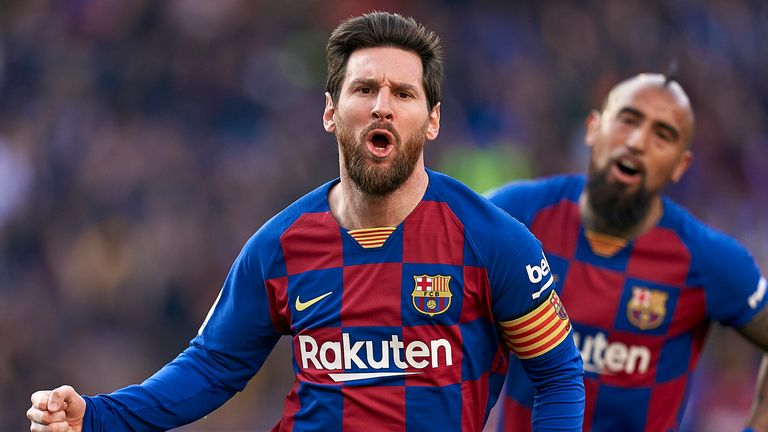 A move to the Etihad would reunite Lionel Messi with former Barca boss Pep Guardiola