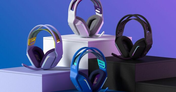 Logitech's colorful G733 wireless headset can make your desk less drab