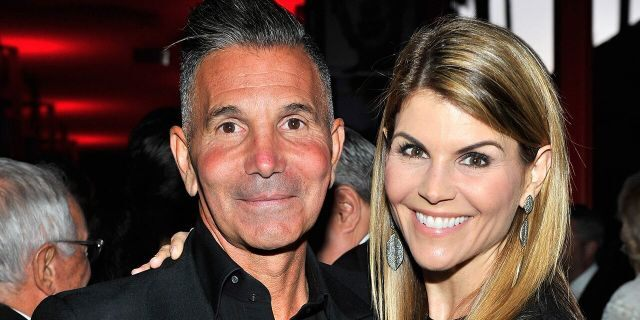 Designer Mossimo Giannulli and actress Lori Loughlin attend LACMA's 50th Anniversary Gala sponsored by Christie's at LACMA on April 18, 2015 in Los Angeles, California.