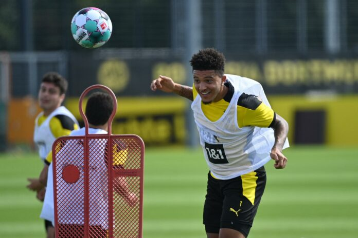 Manchester United target Jadon Sancho hints at future after Dortmund friendly: 'I love playing with this lot'