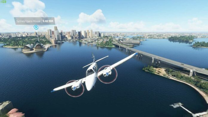 Microsoft Flight Simulator Includes Some Unusual Sights