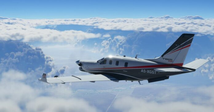 Microsoft Flight Simulator players are flying into Hurricane Laura