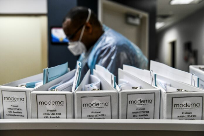 Moderna says its coronavirus vaccine shows promising results in small trial of elderly patients