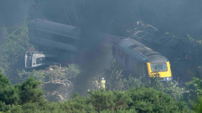 Multiple agencies investigate fatal Scotland train derailment