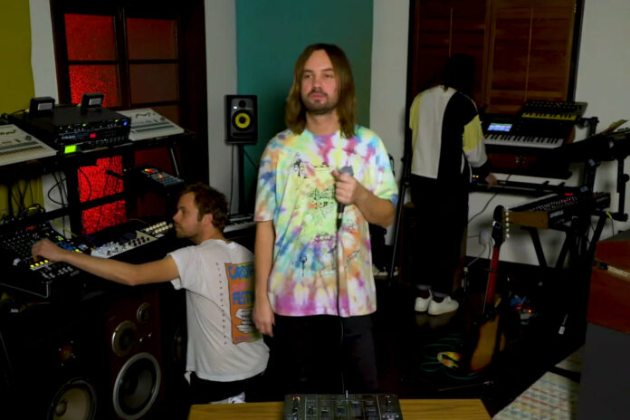 Watch Tame Impala's Intimate 'Tiny Desk Home' Performance