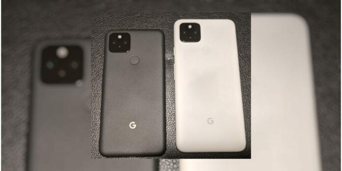 Pixel 4a 5G and Pixel 5, w/ 4,000 mAh battery, leaks in image