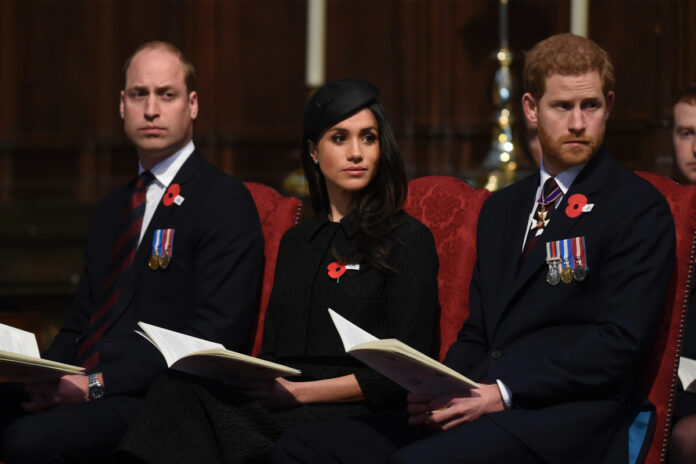 Prince William and Prince Harry barely speak, biographer claims