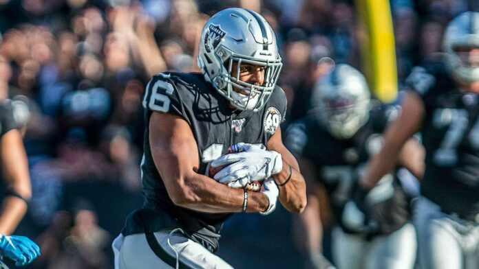 Raiders WR Tyrell Williams has torn labrum, will try to play through it, sources say