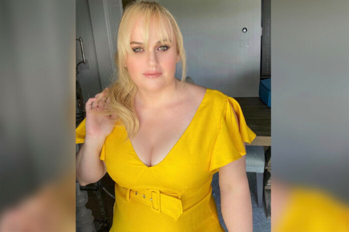 Rebel Wilson models yellow dress while continuing 'year of health' transformation
