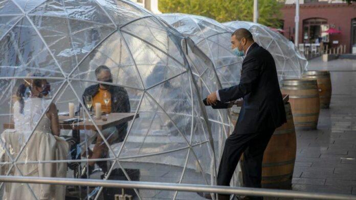 San Franciscians can no longer dine in a bubble