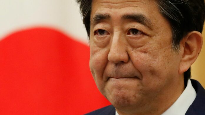 Japan's Prime Minister Shinzo Abe speaks at a news conference in Tokyo, Japan May 25, 2020. REUTERS/Kim Kyung-Hoon/Pool
