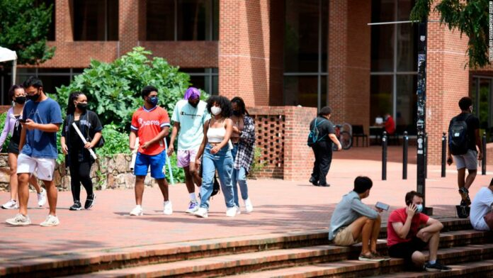 US coronavirus: Covid-19 infections among students have already caused some colleges to halt in-person classes