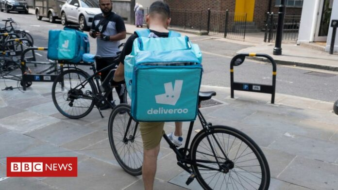 Waitrose signs up Deliveroo for rapid food delivery