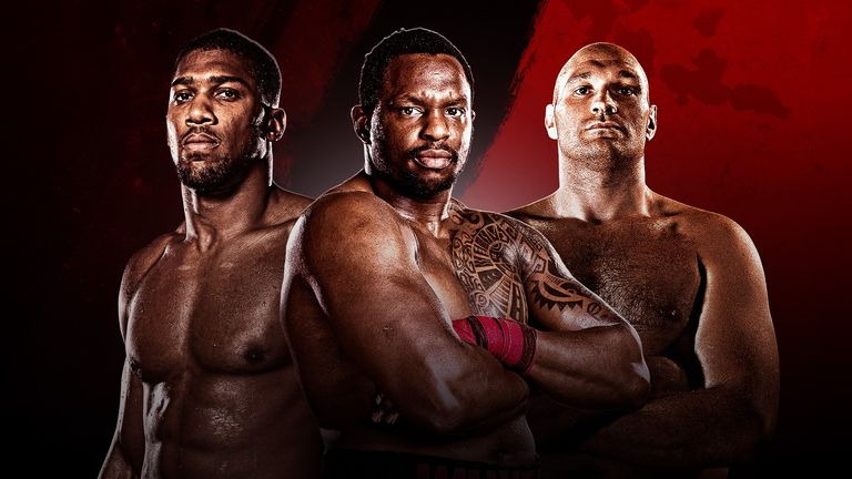 Dillian Whyte could receive a world title fight with Tyson Fury or Anthony Joshua