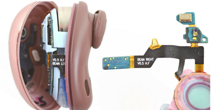 iFixit's Galaxy Buds Live teardown shows that even Samsung calls them beans