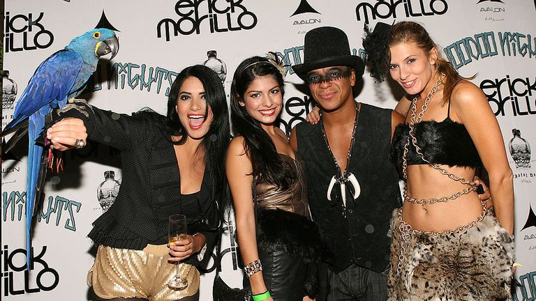 Morillo at a pre-party for his Voodoo Nights in Hollywood in 2010