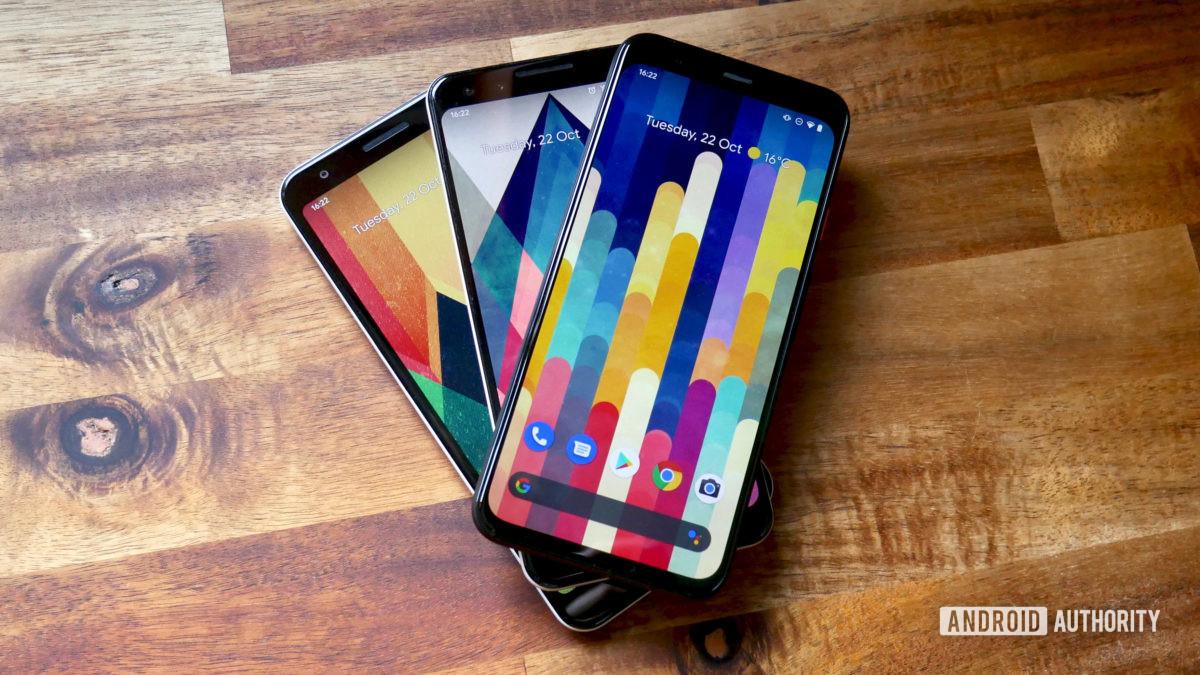 Google Pixel 4 vs Pixel 3 vs Pixel 3 A2