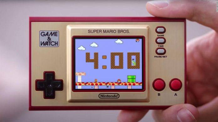 Nintendo will bring back the super-retro handheld game and watch from the 1980s