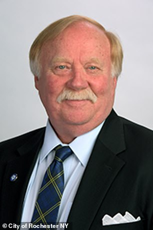 City Corporation Councilor Tim Curtin (pictured) was also suspended without pay for 30 days.