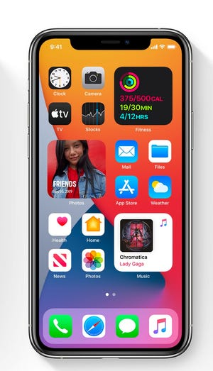 """Apple adds """"Widgets"""" On the iOS home screen in iOS 14"""