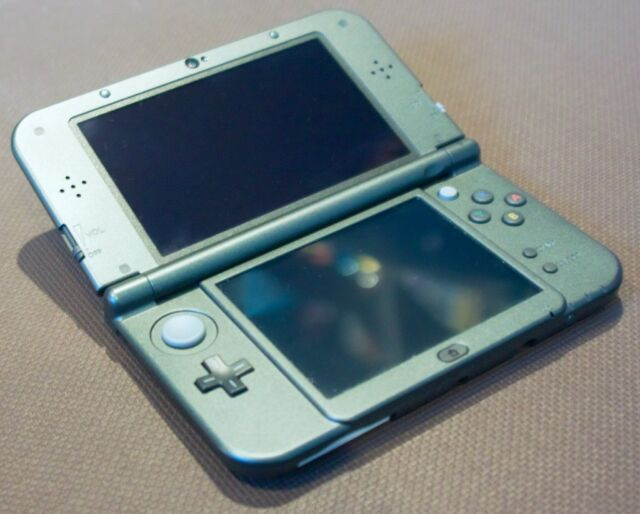 The 3DS XL line was for big hands and chunky pixels.