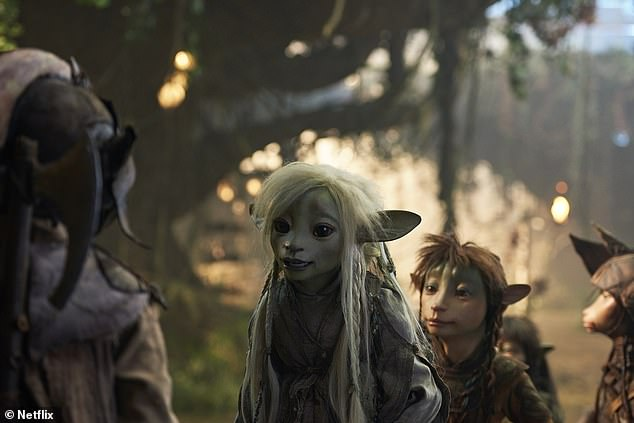 Initially: The series served as a prequel to Jim Hanson's cult-classic 1982 film The Dark Crystal.