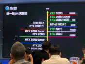 The new NVIIIIIB roadmap is leaked online online, the RTX 3080 shows 20 GB and the Jeffreys RTX 3060 is listed.