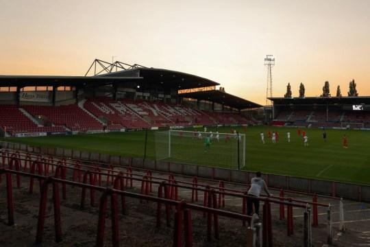 Rexam AFC's Racecourse Ground Home Stadium