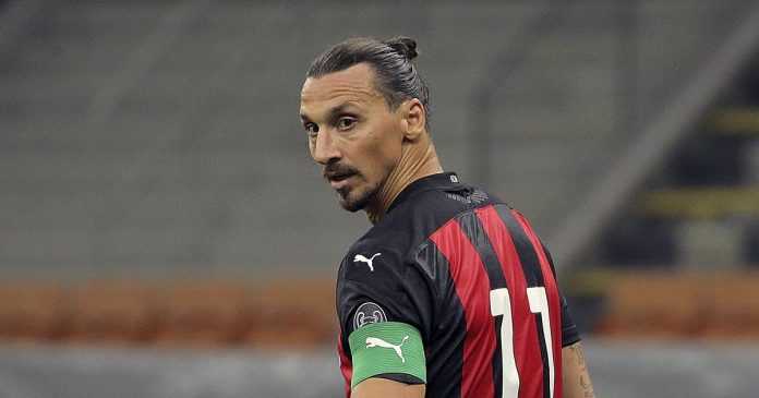 The second A.C.  Zlatan Ibrahim tested positive for coronavirus after Milan case was confirmed