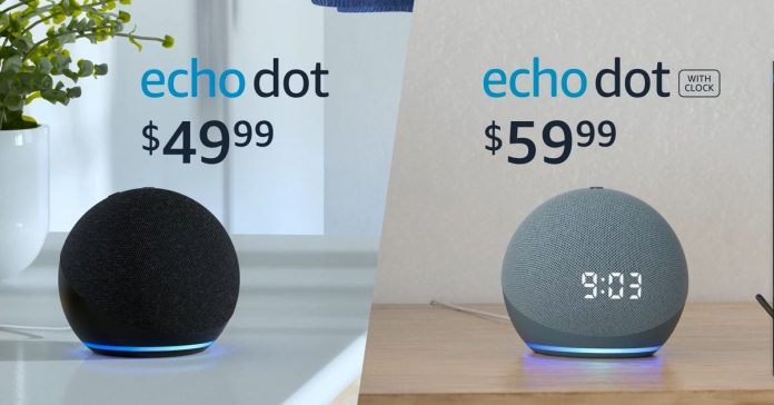Starting with the Amazon 50, Amazon turns new ball-shaped echo dots