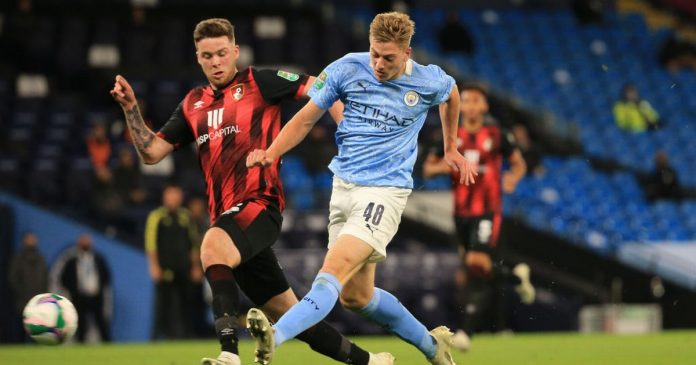Man City youth lead charge as Carabao Cup defense begins with win over Bournemouth - Stuart Brennan